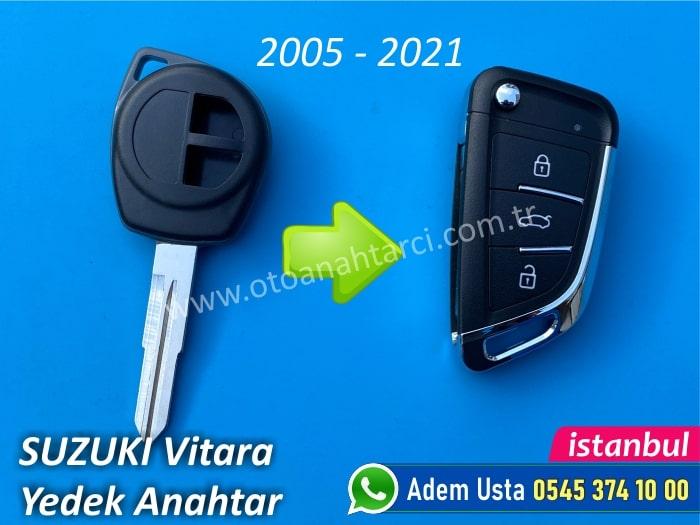 Suzuki Vitara Anahtar Yapımı