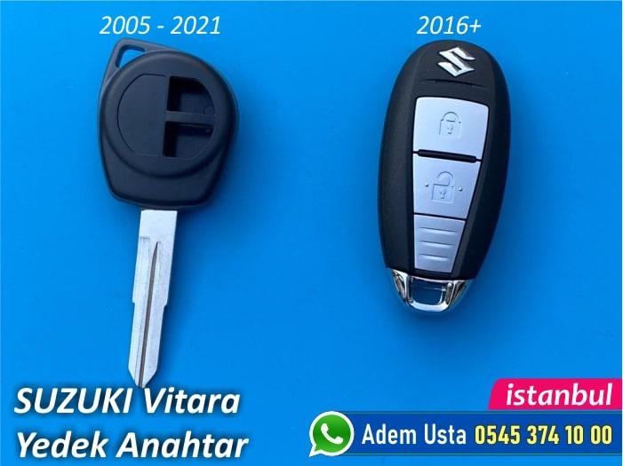 Suzuki Vitara Anahtar Modelleri