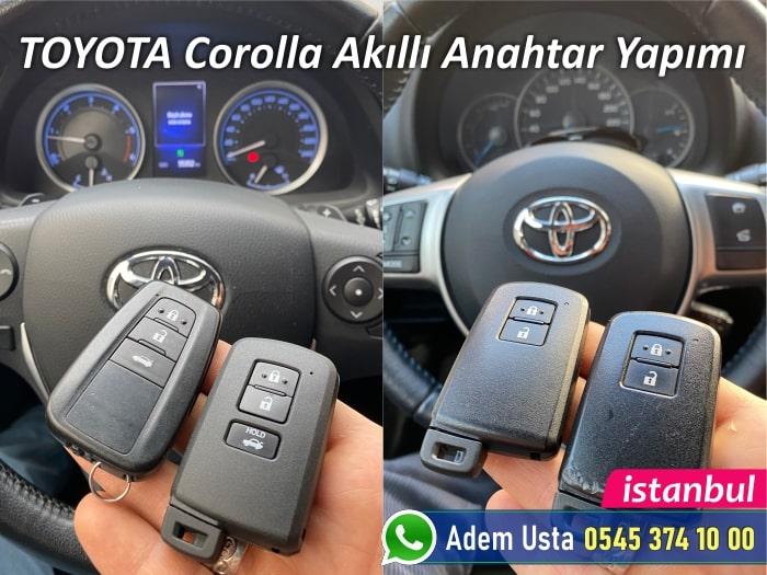 Toyota Corolla Akıllı Anahtar Fiyatı