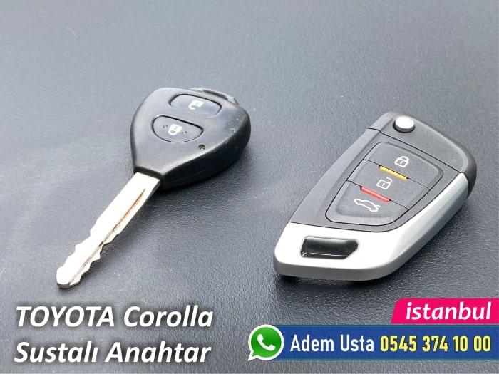 Toyota Corolla Sustalı Anahtar