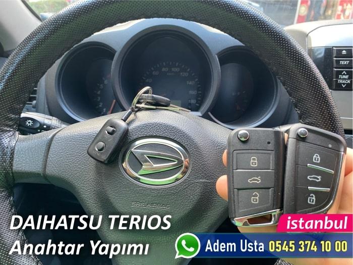 Daihatsu Terios Sustalı Anahtar