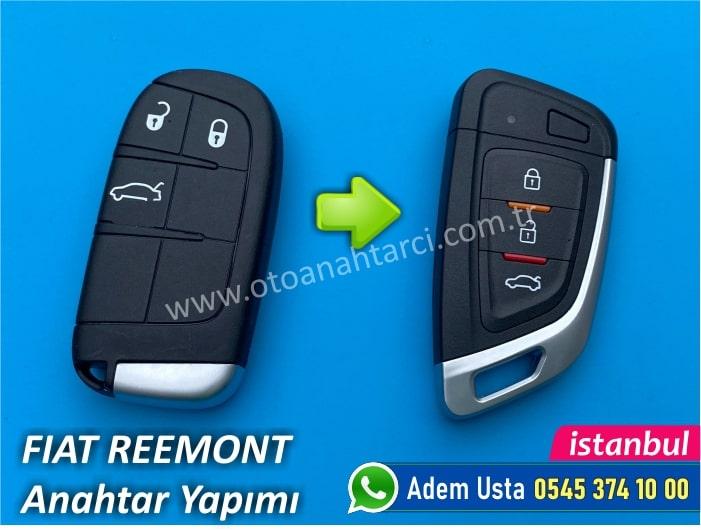 Fiat Freemont Keyless Go Anahtar