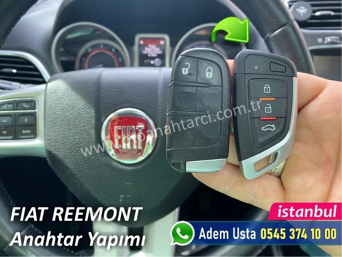 Fiat Freemont Anahtar Kopyalama ve Çoğaltma