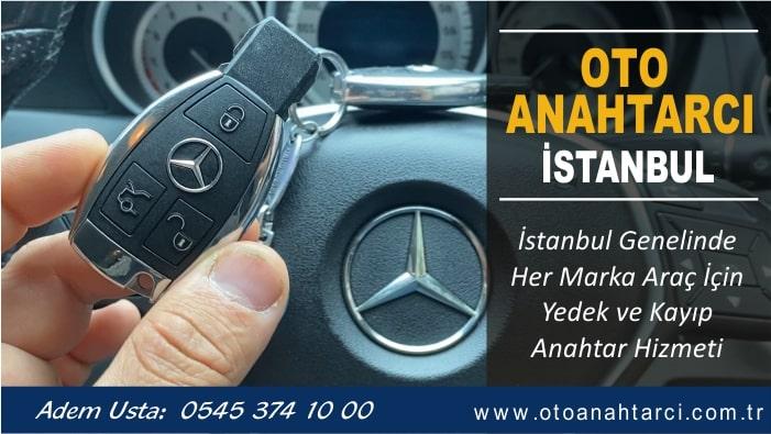Mercedes C180 Bütün Anahtarlar Kaybolursa