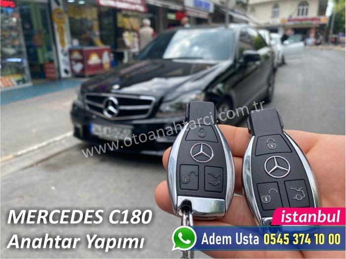 Mercedes C180 Yedek Anahtar Fiyatı