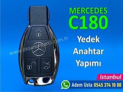 Mercedes C180 Anahtar Yapımı | Yedek Kopyalama - Oto Anahtarcı İstanbul
