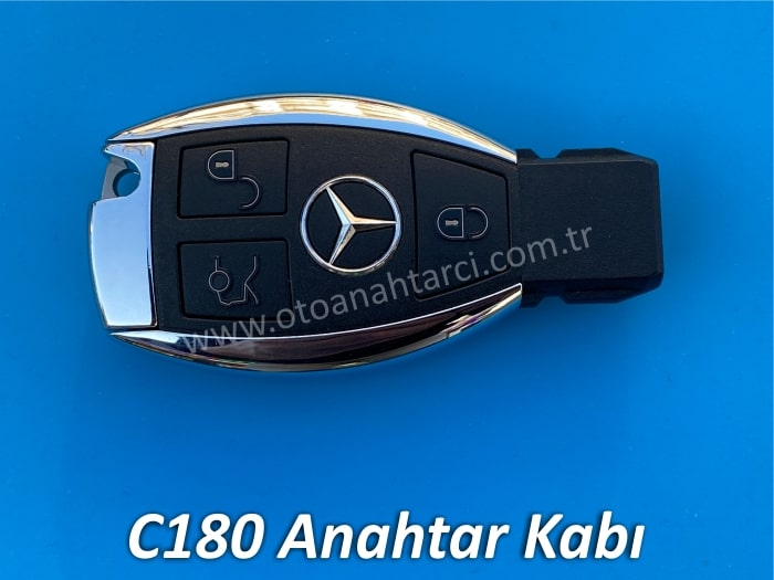 Mercedes C180 Anahtar Kabı