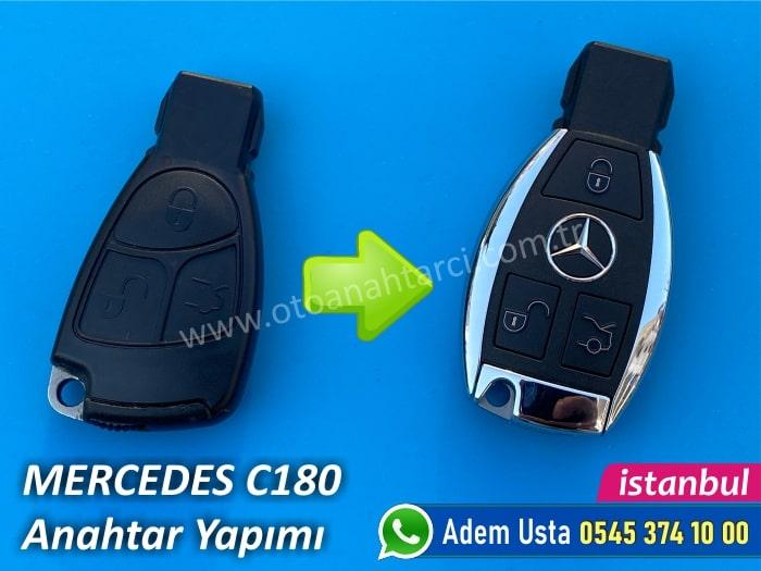 Mercedes C180 Anahtar Tamiri