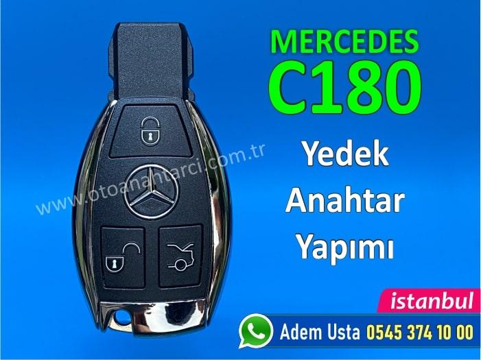 Mercedes C180 Anahtar Yapımı