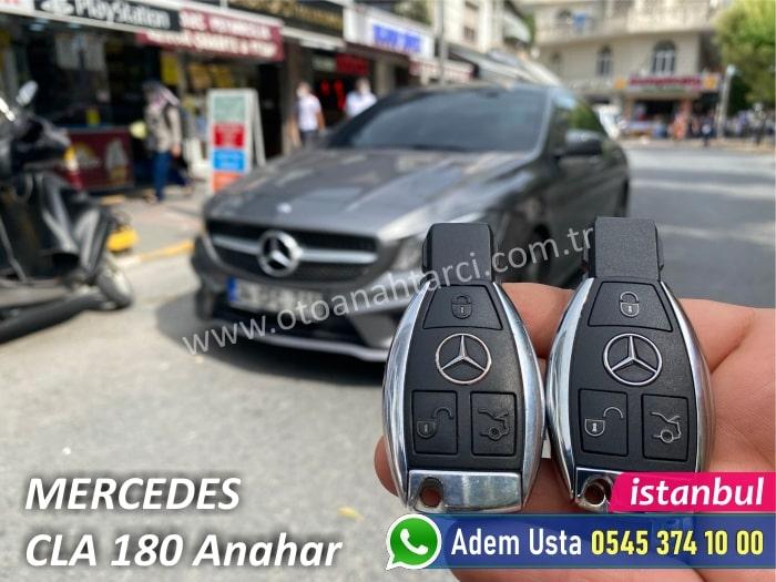 Mercedes CLA 180 Yedek Anahtar Yaptırma