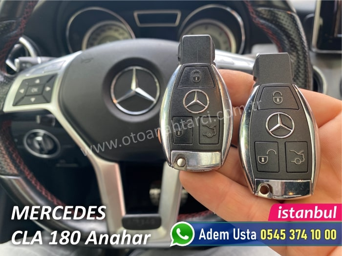 Mercedes CLA 180 Yedek Anahtar Fiyatı