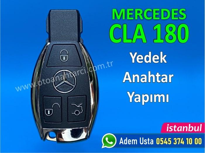 Mercedes CLA 180 Anahtar Yapımı