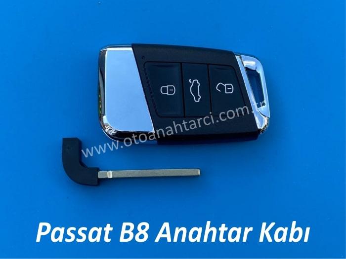 Volkswagen Passat b8 Sustalı Anahtar Kabı