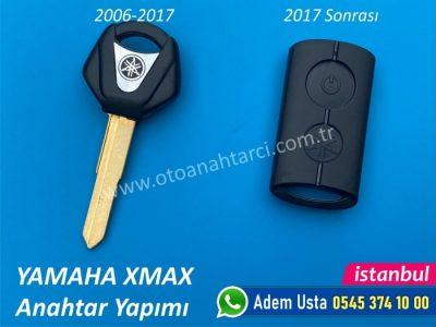 Yamaha Xmax Anahtar Yapımı   Yedek Kopyalama - Oto Anahtarcı İstanbul