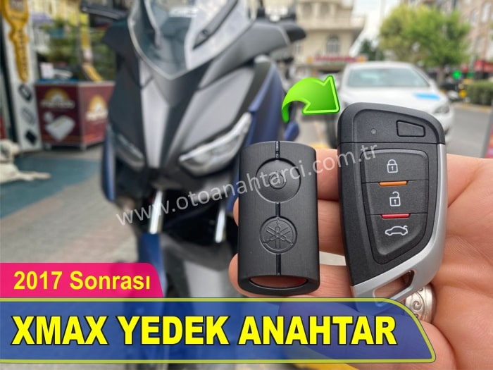 Yamaha Xmax Yedek Anahtar Yaptırma