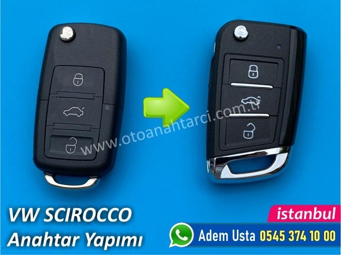Volkswagen Scirocco Yedek Anahtar Fiyatı