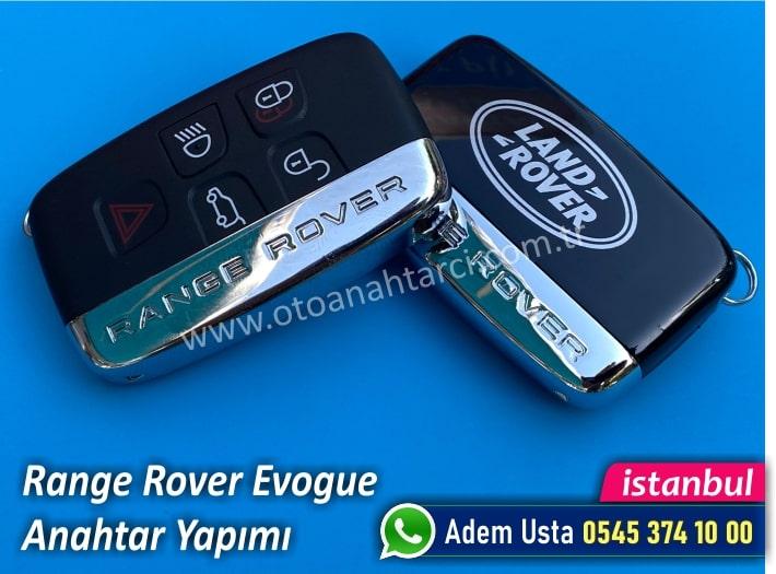 Range Rover Evogue Yedek Anahtar