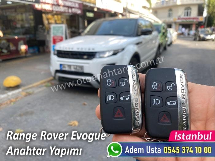 Range Rover Evogue Keyles GO Akıllı Anahtar