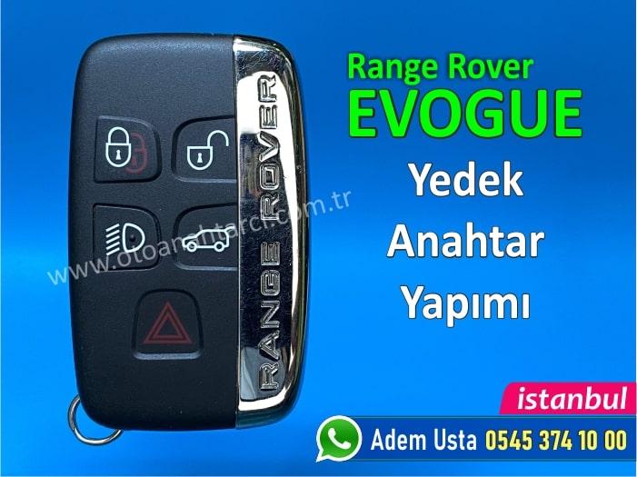 Range Rover Evogue Anahtarı
