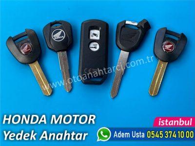 Honda Honda Motosiklet Anahtar Yapımı