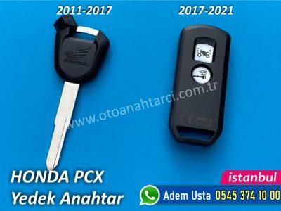 Honda Pcx Yedek Anahtar Yapımı